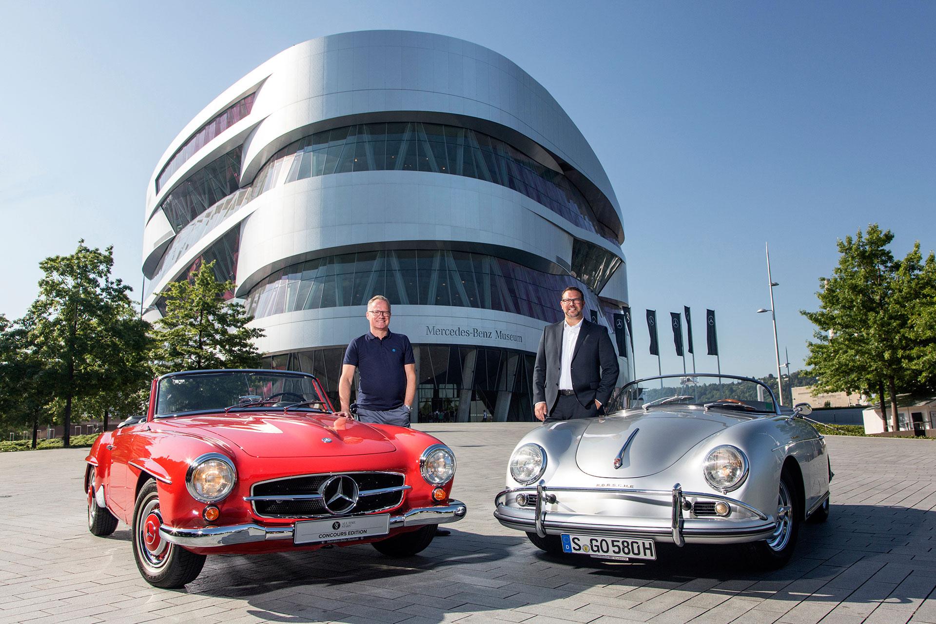 Partnerschaft zwischen Mercedes Benz und Porsche