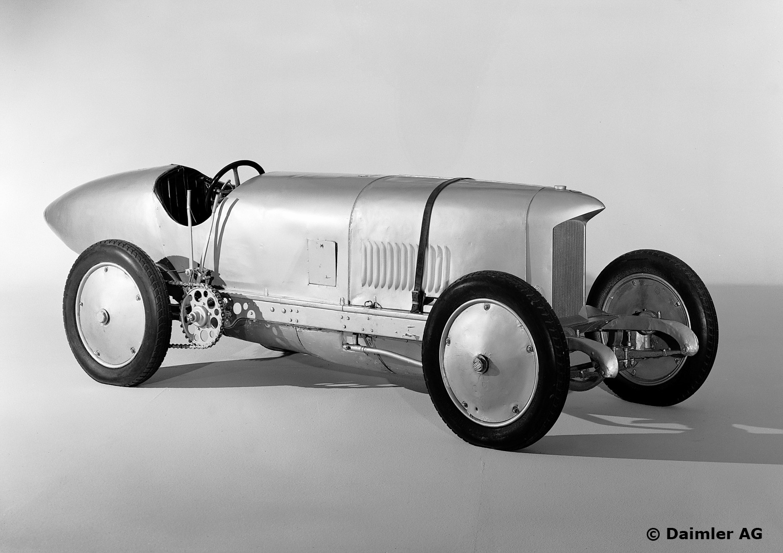 "Benz 200 PS Rekordwagen ""Blitzen-Benz"", 1909 - 1911. (Fahrzeug des Mercedes-Benz-Museums)"